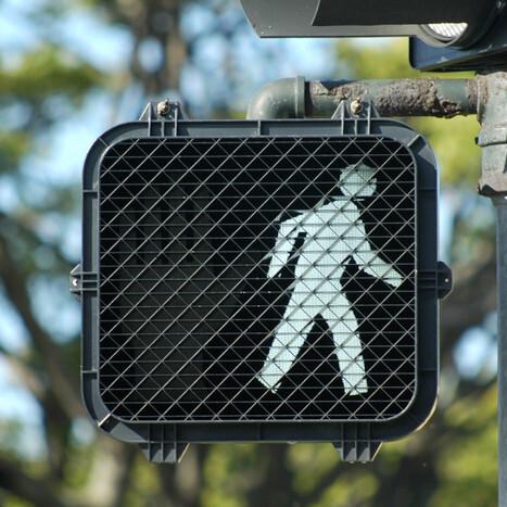 pedestrian crossing light